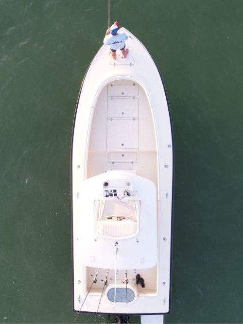 Marauder Marine Custom Bay Boat Stepped Hull Design